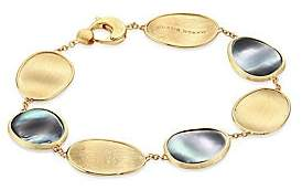 Marco Bicego Lunaria Black Mother-Of-Pearl & 18K Yellow Gold Bracelet