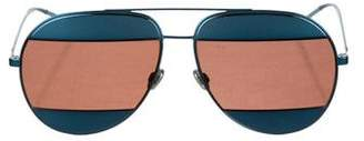 Christian Dior Tinted Aviator Sunglasses w/ Tags