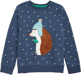Boden Mini Fluffy Friends Sweatshirt