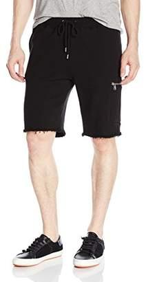 ATM Anthony Thomas Melillo Men's French Terry Cargo Zip Pocket Shorts