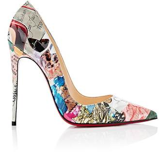 Christian Louboutin Women's So Kate Patent Leather Pumps $745 thestylecure.com