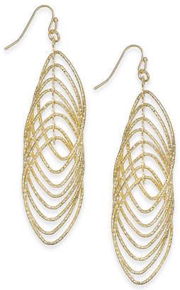 INC International Concepts I.N.C. Navette Multi-Ring Drop Earrings, Created for Macy's