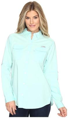 Columbia - Bonehead II L/S Shirt Women's Long Sleeve Button Up $40 thestylecure.com