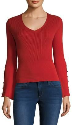 RENVY Women's Bell Sleeve Top