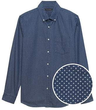 Banana Republic Standard-Fit Chambray Shirt
