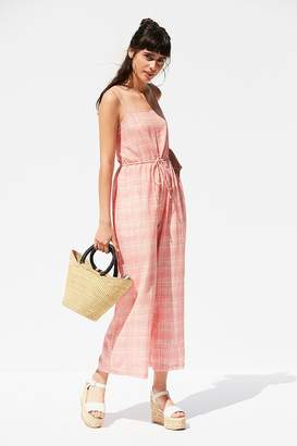 Urban Outfitters Audra Gingham Jumpsuit