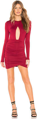 by the way. Lisette Ruched Cut Out Dress