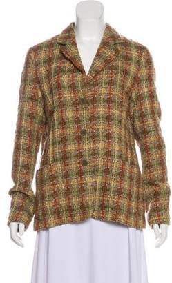Luciano Barbera Wool Tweed Blazer