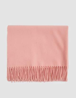 Acne Studios Canada Scarf in Pale Pink