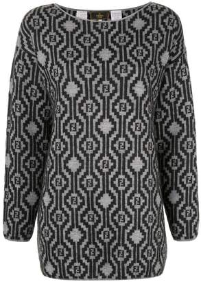 Fendi PRE-OWNED patterned knitted jumper