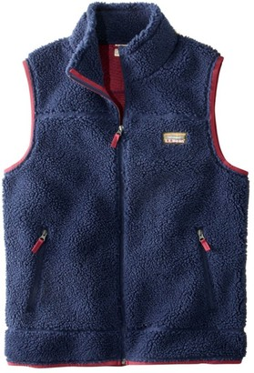 L.L. Bean L.L.Bean Mountain Pile Fleece Vest, Men's
