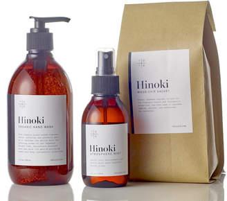 Te Plus Te Hinoki Hand Wash, Mist & Wood Chip Sachet Set