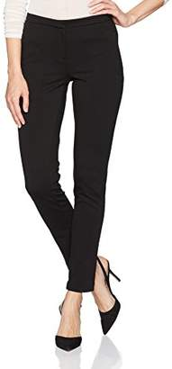 Calvin Klein Women's Ponte Pant with Zippers