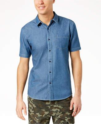 American Rag Men's Slim-Fit Denim Shirt