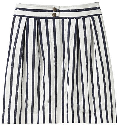 See by Chloé / Eyelet Pleat Trouser Skirt