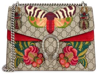 Gucci Dionysus GG Supreme Medium Shoulder Bag