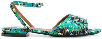 Kenzo Bamboo Tiger Daria sandals