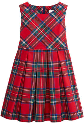 Vineyard Vines Girls Jolly Plaid Party Dress