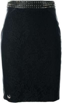 Philipp Plein 'Come On' pencil skirt