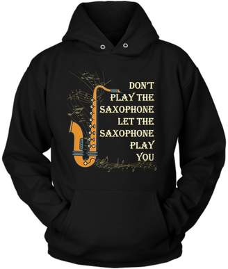 District Hoodies Saxophone Hoodie, M