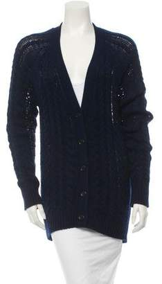 Equipment Knit Long Sleeve Cardigan