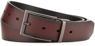 Original Penguin Men's Fashion No. 2 Leather Belt