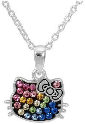 Hello Kitty Sanrio Hello Kitty Rainbow Pendant Necklace $34.99 thestylecure.com