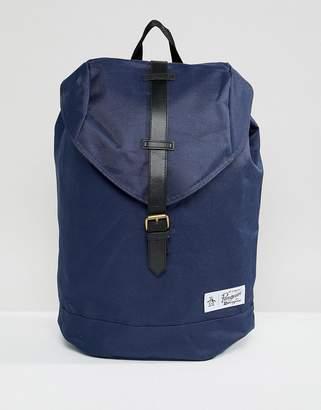 Original Penguin single strap backpack