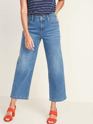 Old Navy High-Rise Wide-Leg Ankle Jeans for Women