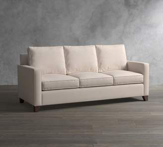Pottery Barn Cameron Square Arm Upholstered Sofa with Storage