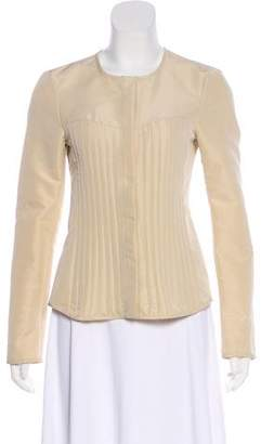 Narciso Rodriguez Quilted Long Sleeve Blazer