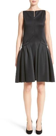 Women's Armani Collezioni Neoprene Fit & Flare Dress