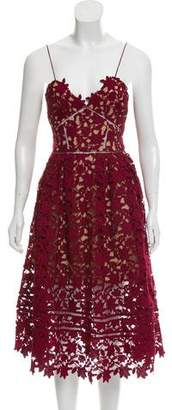 Self-Portrait Azalea Guipure Lace Dress w/ Tags