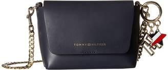 Tommy Hilfiger Tommy Leather Crossbody Cross Body Handbags