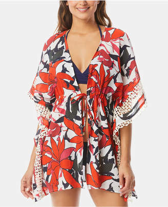 Vince Camuto Tie-Front Caftan Cover-Up Women Swimsuit