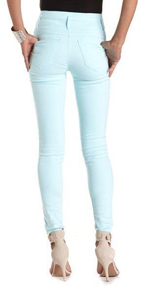 Charlotte Russe Refuge High Waisted Skinny Jean