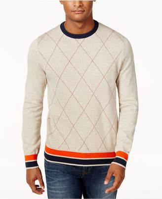 Tommy Hilfiger Men's Archer Argyle Sweater $99 thestylecure.com