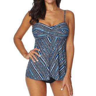 Whitegeese Swimsuit Whitegeese Women Tankini Sets with Boy Shorts Ladies Bikini Set Swimwear Push-Up Padded Bra