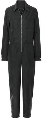 The Range - Liquid Washed-satin Jumpsuit - Black
