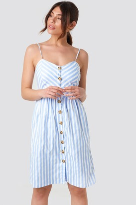 2281816ffb Blue And White Striped Day Dress - ShopStyle UK
