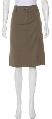Burberry Knee-Length Pencil Skirt
