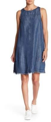 Love Stitch Short Chambray Dress