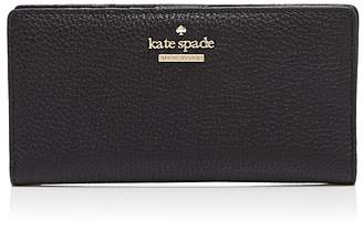 Kate Spade Jackson Street Stacy Pebbled Leather Continental Wallet