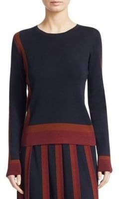 Loro Piana Graphic Crewneck Sweater