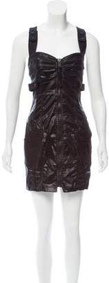 Diesel Embellished Satin Dress