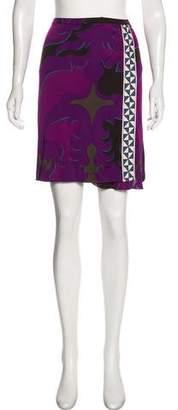 Emilio Pucci Patterned Mini Skirt w/ Tags