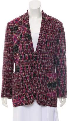 Missoni Wool Knit Blazer
