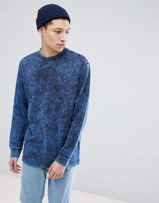 Weekday Radical Acid Washed SweatShirt