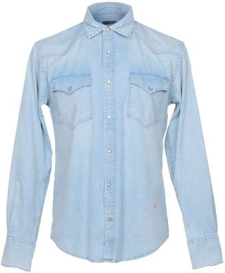 (+) People + PEOPLE Denim shirts - Item 42667943
