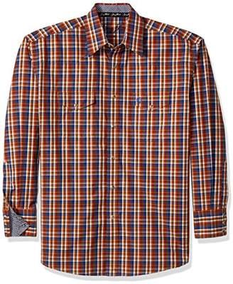 Wrangler Men's George Strait Long Sleeve Two Pocket Woven Shirt
